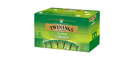 TWININGS Colección de té verde - 20 bolsas - 5 sabores ...