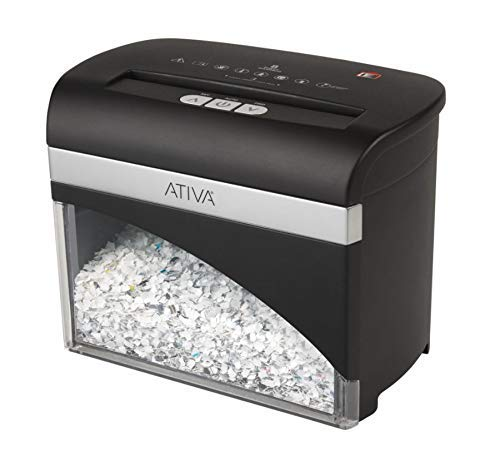 Ativa 8 Sheet Micro-Cut Desktop Shredder, OMM83H (Renewed)