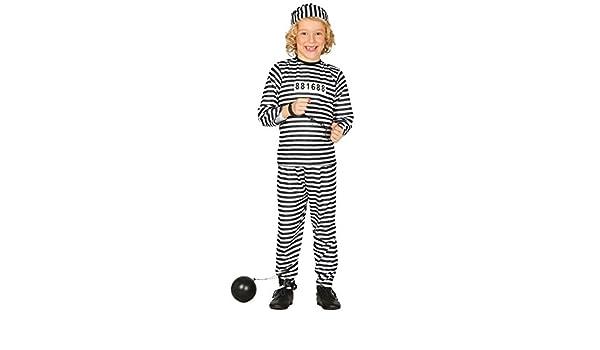Guirca 78401 - Prisionero Infantil Talla 5-6 Años: Amazon.es ...