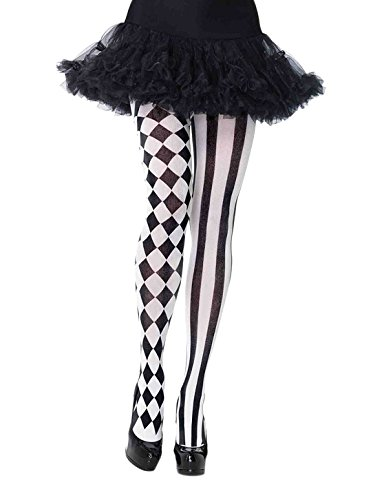 Leg Avenue Womens Harlequin Tights