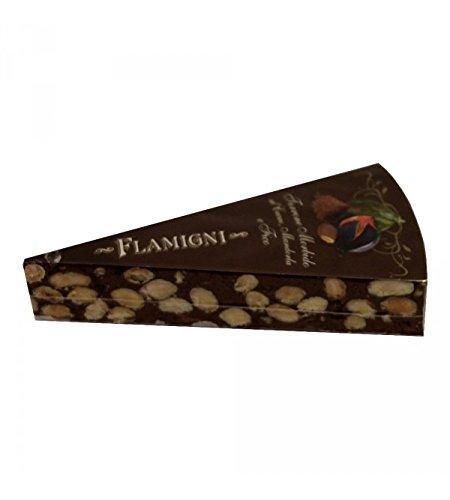 Flamigni - Turron Artesanal de Cacao con 25% de Almendras Apulia y 13% de Higos 150gr: Amazon.es: Alimentación y bebidas