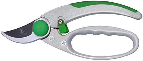 Bush Tool (Garden Clippers by EarthCellar – Quality Bypass Pruning Shears - Sharp Hand Pruners for Flowers, Plants, Trees, Roses, Bushes, Hedges - Ergonomic Gardening Secateurs - Tool Designed for Comfort!)