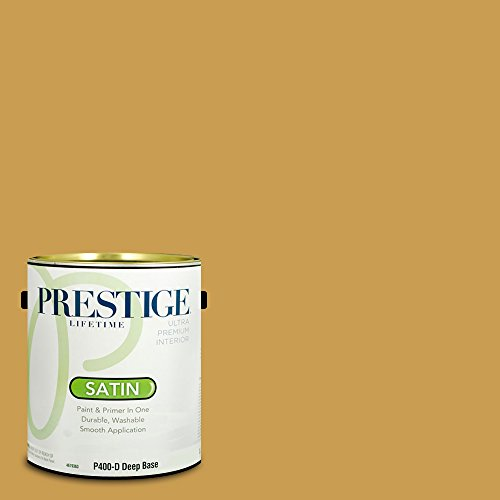 Prestige Paints P400-D-SW6395 Interior Paint and Primer in One, 1-Gallon, Satin, Comparable Match of Sherwin Williams Alchemy, 1 Gallon,