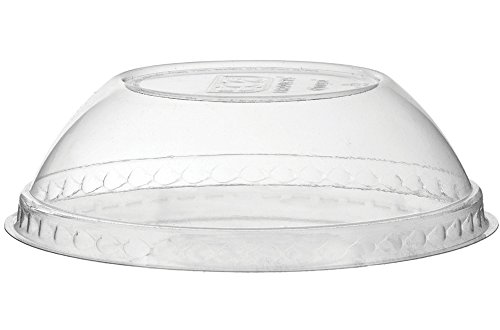 (Eco-Products, Inc EP-BSCDLID Compostable Dome Lid, Fits 12, 16 and 32 oz. Paper Food Containers (Pack of 1000))