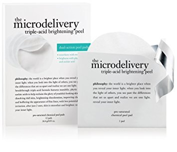 (Philosophy the Microdelivery Triple-acid Brightening Peel Pads - 24 Count)