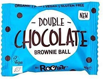 RooBar Bolita De Brownie Doble De Chocolate