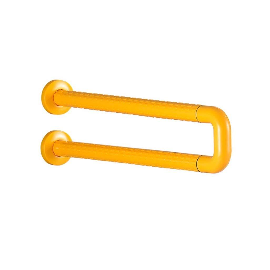 JDQFS Toilet Safety Anti-Slip Handrail Grab Bar Armrest, Stainless Steel U-Shaped Balance Support Grab Bar Guide, Elderly/Disabled Shower Room Armrest