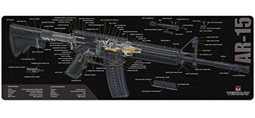 TekMat AR-15alfombrilla de limpieza/12x 36de espesor, durable, resistente al agua/largo de limpieza de pistola estera...