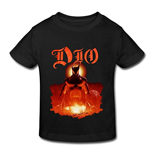 Dio Holy Diver Heavy Metal Band Rudy Sarzo Toddler Tee Shirt Form Fitting
