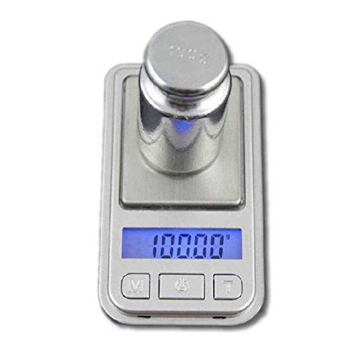 Digital Scale,LtrottedJ 0.01g-200g LCD Ultrathin Jewelry D