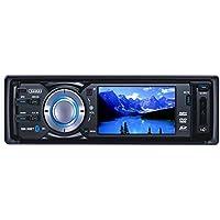 3 Sumas SM-30BT Widescreen Touchscreen In-Dash Detachable Flip-Down Panel Car DVD/VCD/MP3 Player w/Bluetooth