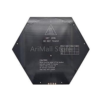 Amazon.com: WillBest Impresora 3D MK3 Cama de calor Delta ...