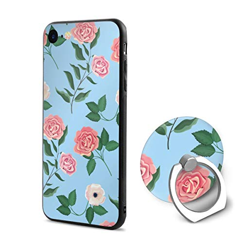 Wild Rose Metal Pedestal (Exotic Wildflowers and Roses Case and Mobile Phone Stand Iphone6/6s,iPhone 6 Case/iPhone 6s Case,Shock-Absorption & Skid-Proof Anti-Scratch Case for Apple Iphone6/6s)