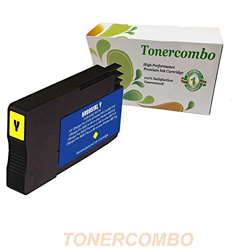 Green Toner Supply Compatible Ink Cartridge Replacement for HP 951XL (Yellow)