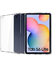 جراب Muzz لهاتف Galaxy Tab S6 Lite -P610 (Wi-Fi)؛ -P615 (LTE) جراب واقٍ ممتص للصدمات ناعم شفاف ممتص للصدمات لهاتف Samsung Galaxy Tab S6 Lite
