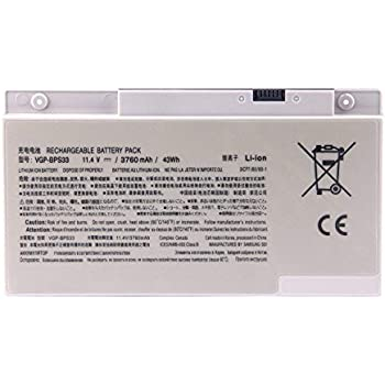 Ding New VGP-BPS33 Replacement Battery Compatible with Sony Vaio Svt-14 Svt-15 T14 T15 Touchscreen Ultrabooks VAIO SVT14126CXS SVT14128CC SVT14127CG ...