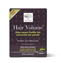 New Nordic Hair Volume. For healthy and beautiful hair. Helps nourish your hair from within. With procyanidin B-2 from apples. Indications:Stop Use Indications: Consult a health care practitioner if symptoms worsen. Consult a health care prac...