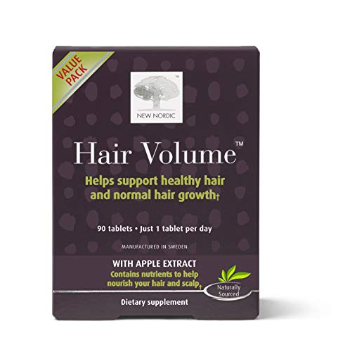 me, 90 Tablets Hair Growth Supplement, Biotin and Naturally Sourced Ingredients, Helps Reduce Hair Shedding ()