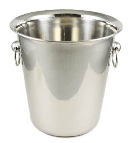 Winco WB-4 4 Quart Wine Bucket, Set of 3 by Winco US