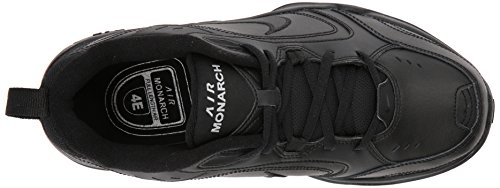 Nike Hombres Air Monarch Iv (4e) Cross Trainer Negro / Negro