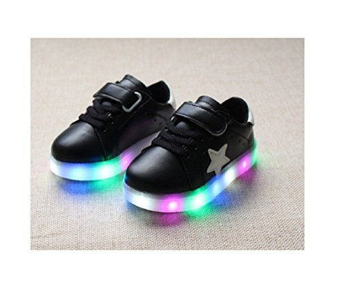 Children Shoes LED Light Kids Shoes with light Baby Boys Girls Lighting Sneakers Casual Children Sneakers (6, - Burberry Dc Store