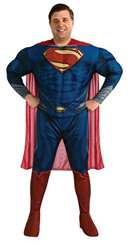 Rubie's Costume Plus-Size Man Of Steel Deluxe Adult