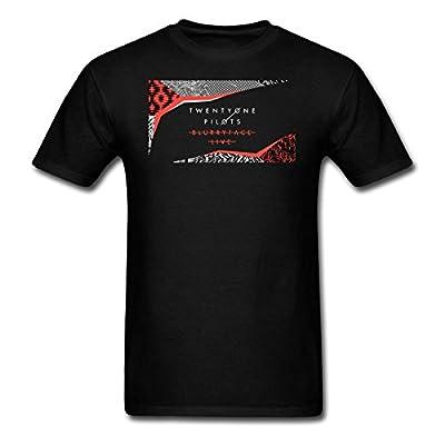 Twenty One Pilots Blurryface T-Shirt T Shirt Black Large