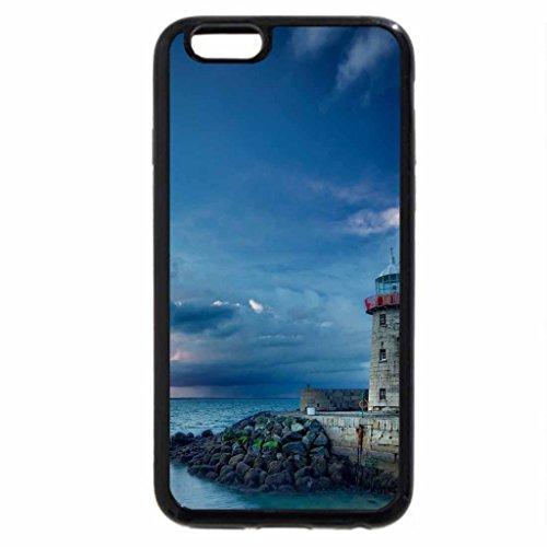 iPhone 6S / iPhone 6 Case (Black) wonderful lighthuse