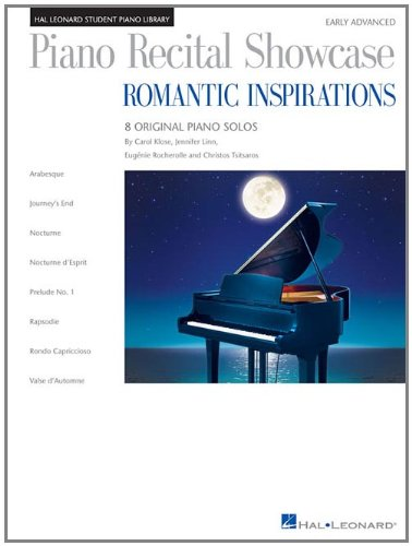 Piano Recital Showcase: Romantic Inspirations: National Federation of Music Clubs 2014-2016 Selection (Hal Leonard Student Piano Library)