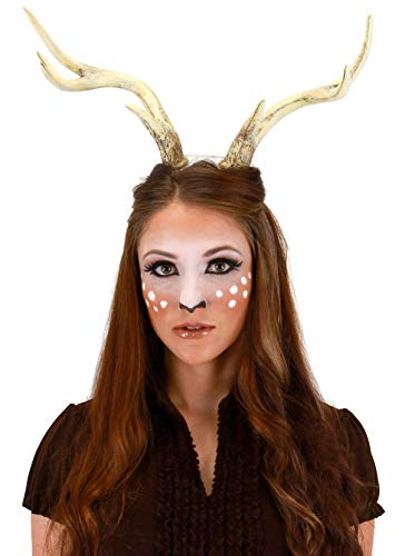 Deer Costume Antlers for Adults, Women and men by elope