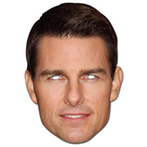 Tom Cruise Face Mask (Single - Tom Costume Cruise