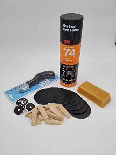 Amazon Com Db Entertainment Company Billiard Pool Table Cloth Installation Kit Shim And Beeswax Kit For Leveling Install Or Recovery And Refelting Sports Outdoors