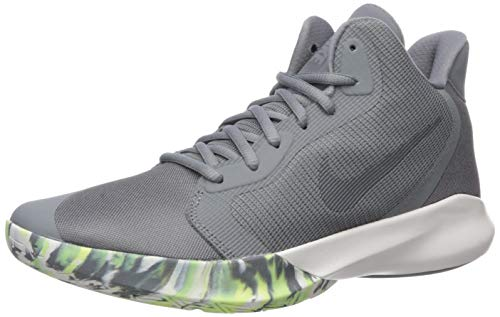 Nike Precision III Basketball Shoe Cool Dark Grey-Platinum Tint