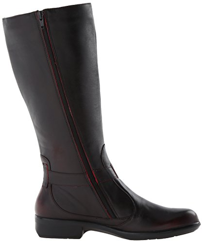 Naot Women's Viento Boot, Volcanic Red Leather, 41 EU/9.5-10 M US by NAOT (Image #7)