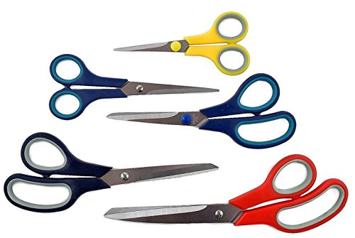 Piece Stainless Multi Purpose Scissors Set