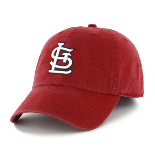 MLB St. Louis Cardinals Kid's Clean Up Cap, One Size, Red