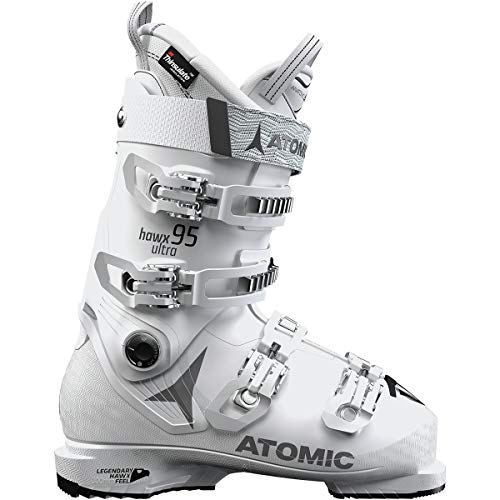 Freeride Touring Boot - Atomic HAWX Ultra 95 W Ski Boot - Women's White/Grey, 24.5