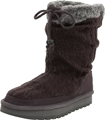 Amazon.com | Skechers Women's Keepsakes Blur Winter Slouch