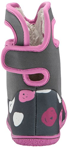 Winter Multi Penguins Classic Boot Sketch Snow Baby Bogs Dots Dark Grey 4t6wvqF