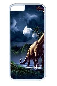 Brachiosaurus Dinosaur Custom ipod touch4 inch Case Cover Polycarbonate White