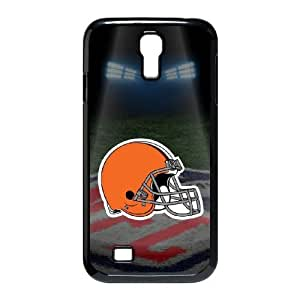 Samsung Galaxy s4 9500 Black Cell Phone Case Cleveland Browns NFL Phone Case Cover Protective Hard NLYSJHA0390