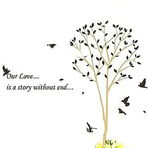 joyliveCY CY-buity 160 * 170 cm historia de amor de árbol y ...