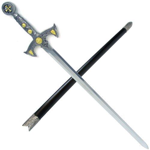 Whetstone Cutlery Knight Templar Sword with Hard Scabbard
