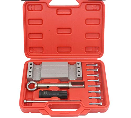 New Timing Tool Set Camshaft Timing Alignment Tools For Mercedes Benz M157/M276/ M278 with T100 and Injector Removal Puller Tool (Mercedes Benz S 500 Plug In Hybrid)