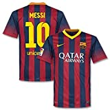 Barcelona Home Messi Jersey 2013 / 2014-L