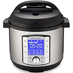 The new Instant Pot Duo Evo Plus is the latest generation of Multi-Cooker and your soon-to-be culinary best friend. With 48 customizable presets, it's a multi-tasking, time-saving, space-saving device that sautés, sous vide, steams, slow cook...