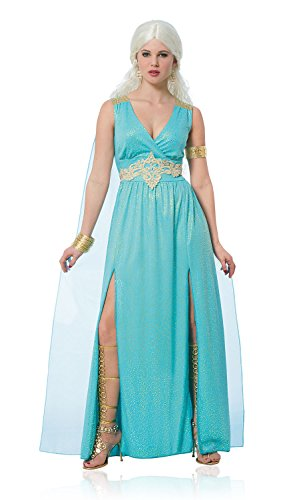 Costumes Goddess Mythical Adult (Costume Culture Women's Mythical Goddess Costume, Turquoise,)
