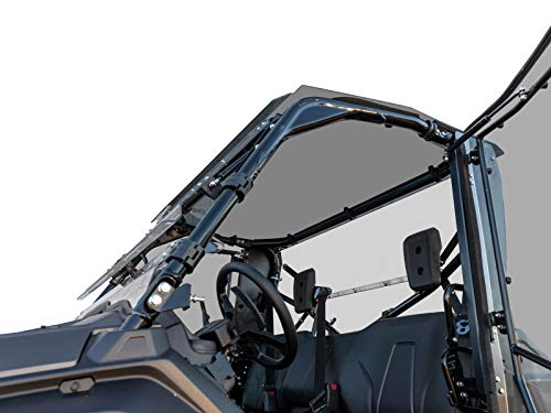 SuperATV Heavy Duty Tinted Roof for Honda Pioneer 1000 (2016+) - Easy to Install! -  SuperATV.com, ROOF-H-PIO1K-004-71