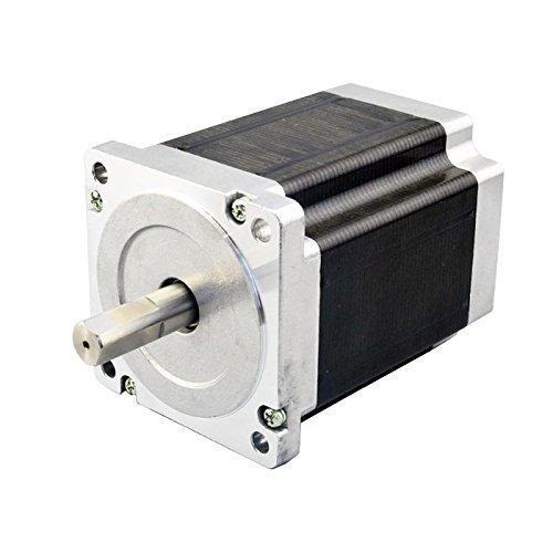 Dual shaft nema 34 cnc stepper motor cnc for Nema 34 stepper motor mount