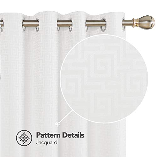 Maze Pattern - Deconovo Decorative Thermal Insulated 2 Panels